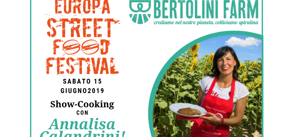 invito Spirulina all'Europa Street Food Festival